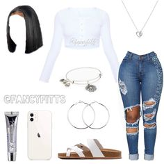 What year did/will you graduate? Baddie Outfits Casual, Boujee Outfits, Teen Fashion Outfits, Dope Outfits, Girly Outfits, Retro Outfits, Polyvore Outfits, Latest Fashion Clothes, Casual Teen Fashion