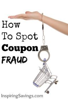 How To Spot Coupon Fraud