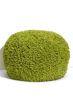I may just have to have two of these shaggy ottomans. They are so comfy!