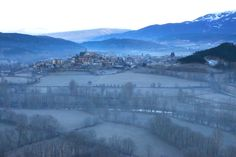 The Frozen Cerdanya valley, in the heart of the Catalonian Pyrenees, for the take-off time!