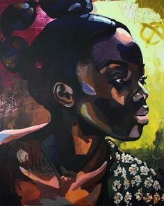 Soul of Sankofa African American Artist, African Art, Portrait Art, Portraits, African Paintings, Black Art Pictures, Art Africain, Afro Art, Arte Pop