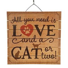 All  YOU NEED IS LOVE AND DOG Plate Wood Plaque Home Decorations Wall Art Sign
