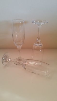 ***FOR HIRE*** Need champagne flutes for your toast? Hire these for just 50p each!