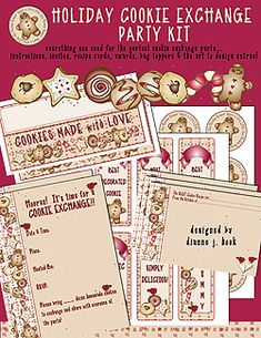 HOLIDAY COOKIE EXCHANGE PARTY DOWNLOAD