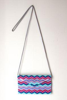 Chevron-Beaded Crossbody Bag by AShopofThings on Etsy