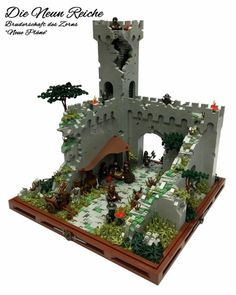 New plans formed within the ruins http://www.brothers-brick.com/2016/01/28/new-plans-formed-within-the-ruins/