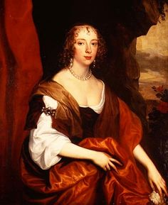1637 Anne Carr, Countess of Bedford age 22 by Sir Anthonis van Dyck (location unknown to gogm) | Grand Ladies | gogm