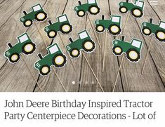 Tractor Birthday, City Photo