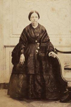 D.Maria II, born in 04/04/1819 in Rio de Janeiro, Queen of Portugal, sister of Emperor Pedro II of Brazil