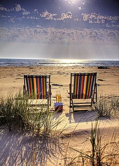 view from the beach - Ludington, Michigan - One of my favorite places in the world!!