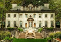 The Swan House--where I would live if I was the heroine of an old British novel