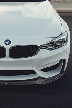 F80 M3. Can't go wrong with a fresh white BMW!