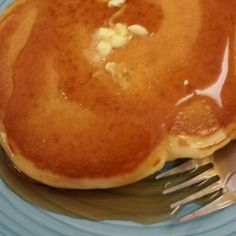 """Pancakes - Paleo I """"The pancakes cooked up just like 'normal' pancakes and weren't really dense or heavy like other paleo pancakes I've tried, simple ingredients that produced a good flavor without having to add any sweetener to the recipe itself."""""""