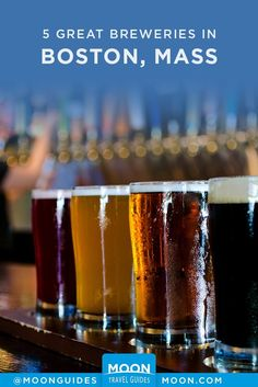 Sam Adams may be the official beer of the Boston Red Sox, but it's hardly the only one to define this city as a great destination for beer-lovers. On your next hop through Beantown, check out one of these 5 breweries and taprooms for a refreshing pint. Boston Brewery, Top Craft Beers, Adam May, Boston Travel, New England Travel, Tap Room, Boston Massachusetts, Beer Bar, Beer Lovers