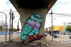 O MAAU (Museu Aberto de Arte Urbana) nasce para expor a aceitação do graffiti como uma arte que já faz parte da cidade. O projeto inédito, idealizado pelos artistas urbanos Chivitz e Binho, deu vida a uma verdadeira galeria de arte pública presente na Av. Cruzeiro do Sul, Zona Norte de São Paulo.    São 66 painéis criados por mais de 50 artistas. Vale a pena conferir de perto, enquanto isso, aprecie Binho!