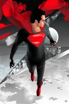 Superman: Man of Steel by Aseo