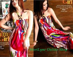 Bohemian Beads Halter Colorful Printed Maxi Dress Red - $27.9 on @ClozetteCo