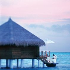 Preparing an intimate dinner for two at Taj Exotica #Maldives.