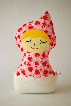 Snoozy Strawberry Girl
