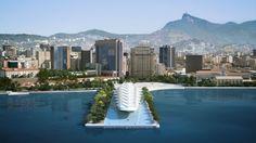 Museu do Amanhã-Praça Maua-Rio de Janeiro