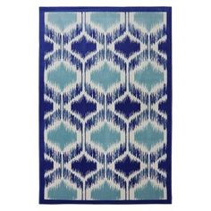 Mohawk Home Shades Woven Area Rug - Blue/Cream : Target Mobile