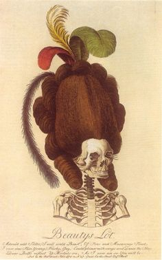 18th century big hair!
