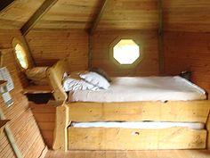 visite des Cabanes perchées dans les arbres - Cabanes de Labrousse enArdèche