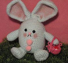 Roley Poley Easter Bunny Amigurumi - Free Pattern - PDF Download