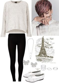 Day in Paris with G Dragon (requested by anon) -admin M