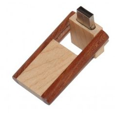 USB stick 2 kleuren hout schuif-draaimodel (8GB) 2 Colours, Gadgets, Usb, Sticks, Model, Appliances, Scale Model, Gadget