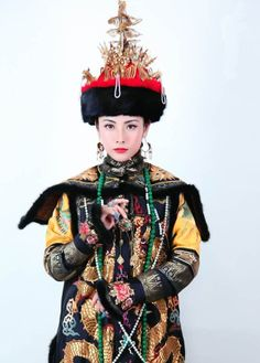 Chinese corth dress in Qing dynasty