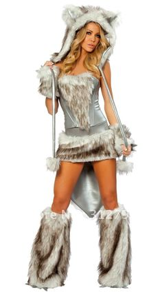 Sexy Halloween Costumes for Women | ... Costume sexy costumes Sexy cat girl wild wolf cosplay costumes women