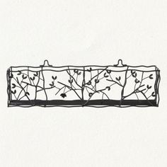 i could see these pretty little window boxes filled with bright flowers or soft green ferns  $88
