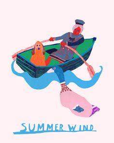 Summer Wind Monika Forsberg/ walkyland