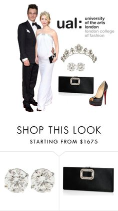 """""""Carrie x Quinn AU set #57- Benefit Gala as Royal Patrons for UAL: London College of Fashion"""" by varia3 ❤ liked on Polyvore featuring Roger Vivier and Christian Louboutin"""
