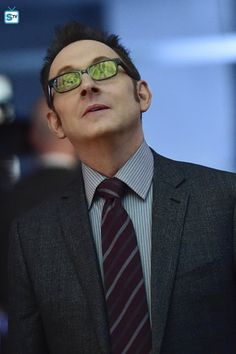 Photos - Person of Interest - Season 5 - Promotional Episode Photos - Episode - . Oakley Sunglasses, Mirrored Sunglasses, Harold Finch, Person Of Interest, Episode 5, Celebrity Crush, Pretty Girls, Tv Shows, Seasons