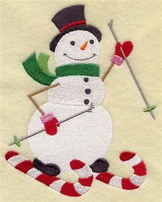 Machine Embroidery Designs at Embroidery Library! - Candy Canes