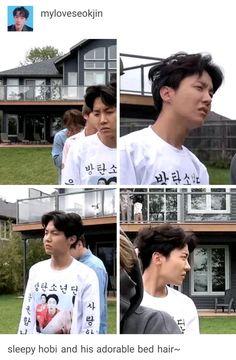 JHOPE me representa cuando me levanto - Bts members - Evan Jhope, Hoseok Bts, Bts Bangtan Boy, Jimin, Bts Memes, Surprise Baby, Bare Face, Bts J Hope, Daehyun