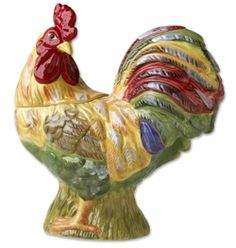 Image detail for -home vintage cookie jars cookie jar rooster rooster cookie jars