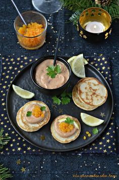 tarama vegan caviar à l'orange - Noël végétal