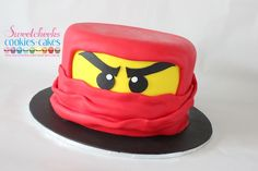 #Ninjago Head #Cake By Sweetcheeks Cookies and Cakes