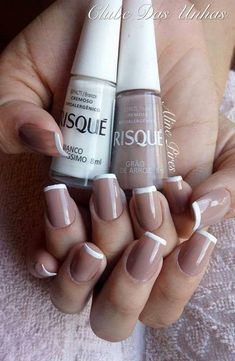 Desenhos nas Unhas - in 2020 Perfect Nails, Gorgeous Nails, Stylish Nails, Trendy Nails, Nails Only, Rose Nails, Manicure And Pedicure, Nails Inspiration, Beauty Nails