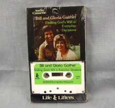 Bill & Gloria Gaither Finding God's Will in Everyday Decisions Audio Book Tape