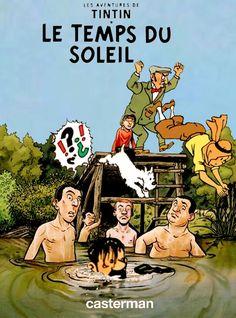 Les Aventures de Tintin - Album Imaginaire - Le Temps du Soleil