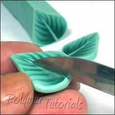 Millefiori Leaf Canes tutorial; more than a dozen different leaf canes.