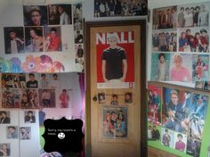 "Fan wall: ""(i also have a 1DBedding ;))"""