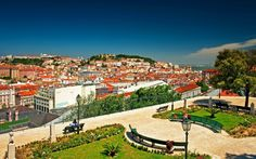 Man Made Lisbon  Man Made Portugal City Cityscape Colors Colorful House Wallpaper