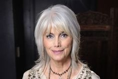 See photos of amazing gray hair on celebrities and regular people. Short gray hair, long gray hair, plus, find out how to properly care for gray hair.