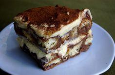 Recette Tiramisu pudding met chocolade brioche