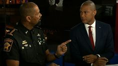"""(CNN)Unapologetic and blunt, Milwaukee County Sheriff David Clarke has won legions of supporters on the right with his frequent commentary that slams Black Lives Matter and other liberal groups. As violence roiled Milwaukee this weekend, Clarke took to Twitter chiding the left and black activists, whom he derides as """"Black Lies Matter."""" Clarke, who's African-American,...  #News #BreakingNews #USNEws #WorldNews #CurrentEvents #HappeningNow #TodaysNews"""